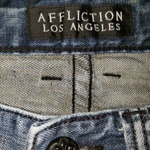 Affliction Jeans - Affliction Los Angeles Cooper Relaxed Boot 36x32